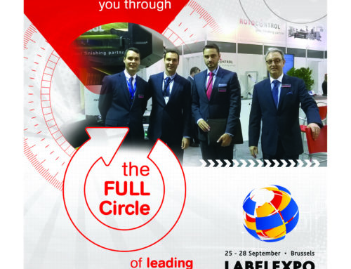 August 2017 newsletter: Go full circle with ROTOCON at Labelexpo Europe