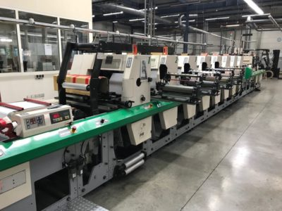 MPS flexo printing press