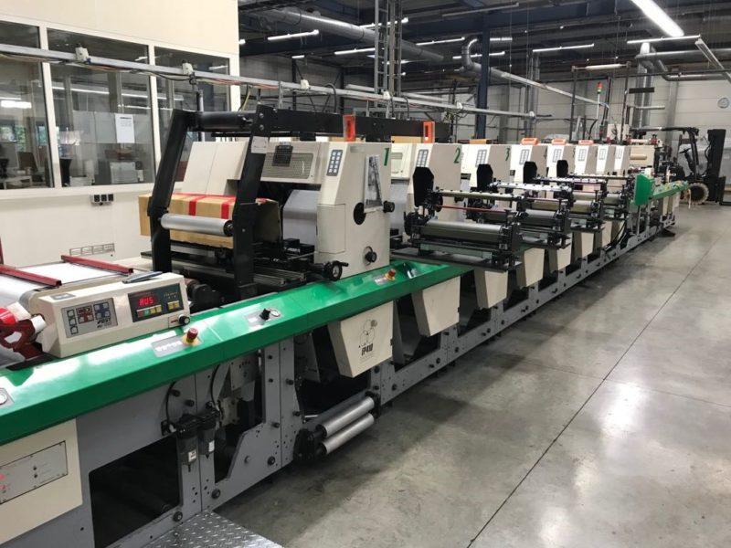 MPS flexo printing press