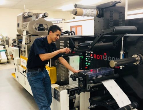 Label Leaders Expands Embossing and Offline Hot Foiling with a ROTOCON Ecoline RDF-330