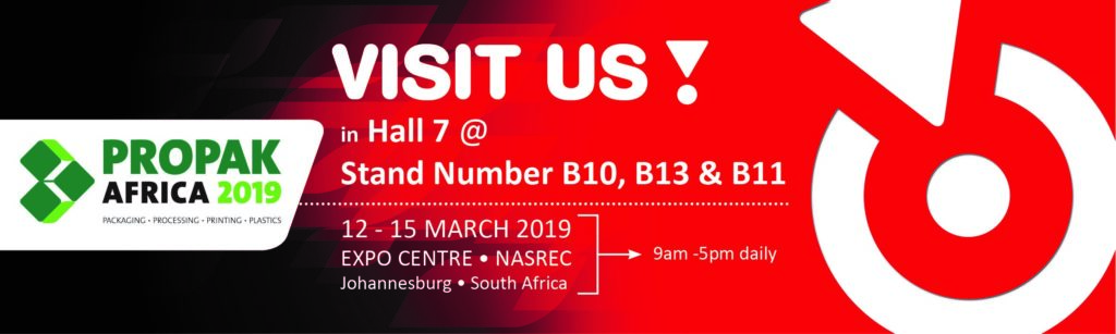 Meet ROTOCON Propak Africa 2019, 12-15 March in Johannesburg