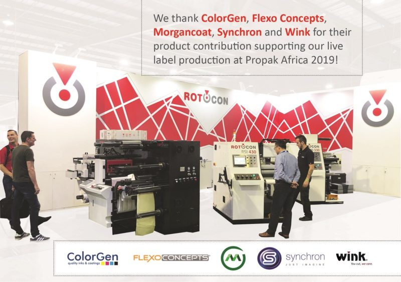 ROTOCON sponsors at Propak Africa 2019