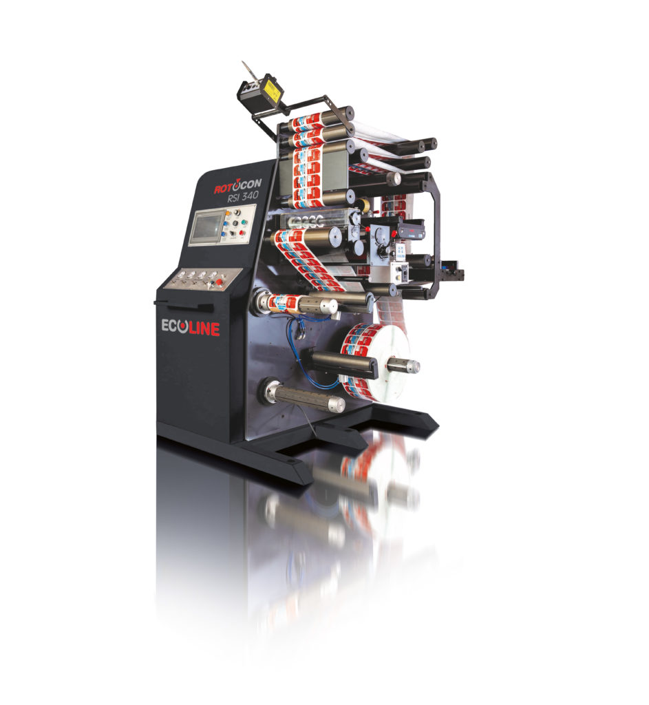 With operator ease, the Ecoline RSI 330 slitter rewinder provides a full suite of cost-efficient standard features and is cleverly designed for inspection and slitting of printed labels.