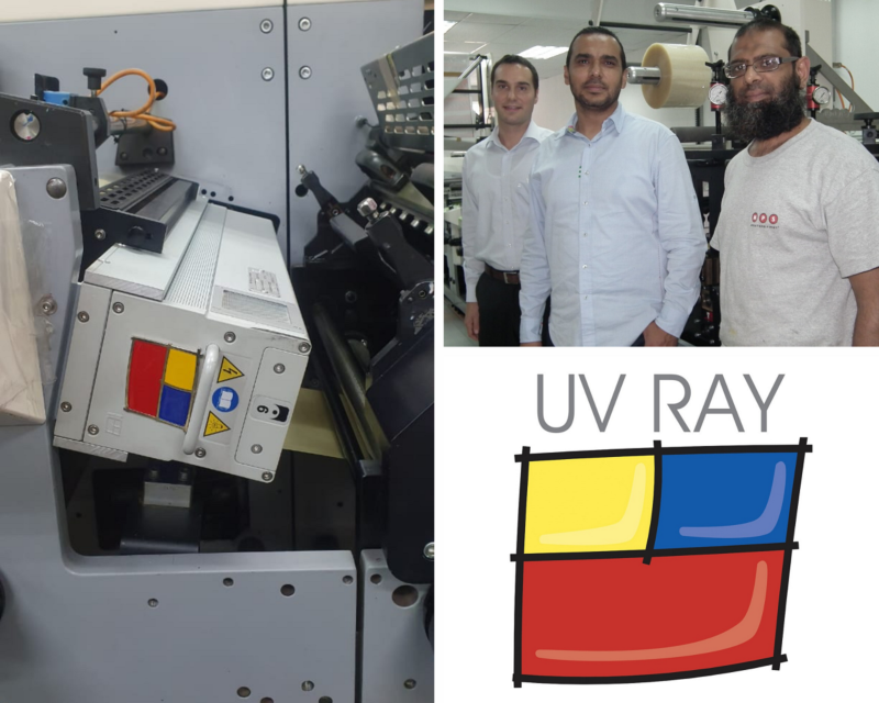 The ROTOCON service team recently retrofitted older MPS flexo presses with three new UV Ray Atom systems at JMB Labels and another label printer in Johannesburg.