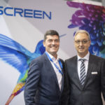 Steve Low, Screen South Africa's Sales and Service Director and Michael Aeengenvoort, Rotocon's CEO.