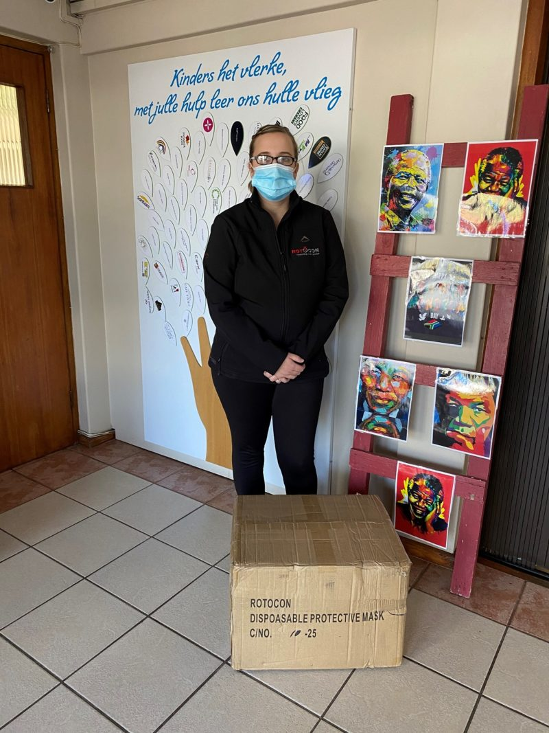 Megan Nortje, assistant manager at ROTOCON's Durbanville branch