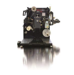ROTOCON ECOLINE RDS 340 die cutter, slitter/rewinder