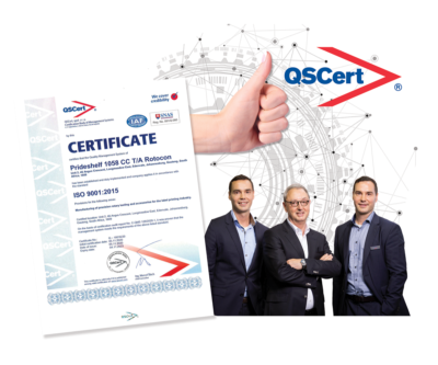 ROTOCON has achieved the ISO 9001:2015 certification for their regional manufacturing facility in Johannesburg, awarded for manufacturing of precision rotary tooling and accessories for the label printing industry.