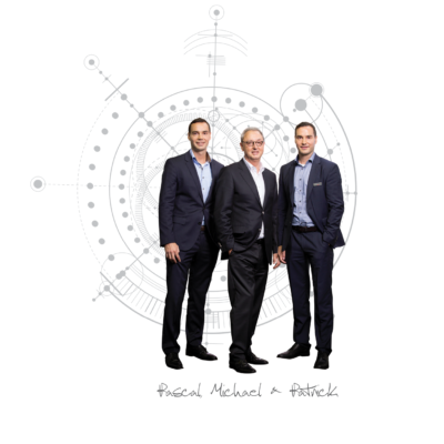 Pascal, Michael, and Patrick Aengenvoort of ROTOCON