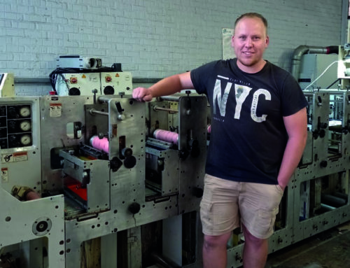 New press, new premises as Alberton Labels its future bright